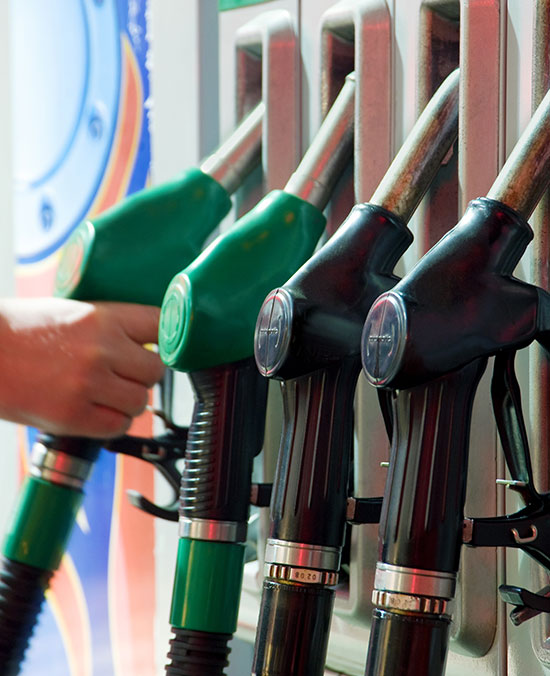 Choix de carburant